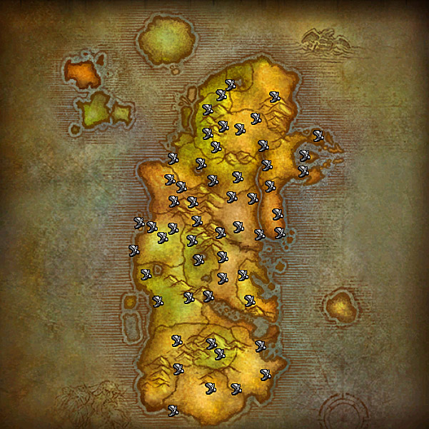 Wow how to get to eastern plaguelands from orgrimmar